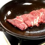 旬鮮台所 ZEN - 和牛陶板ステーキ