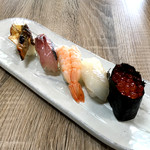 旬鮮台所 ZEN - にぎり寿司5貫