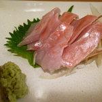 手料理 氣楽 - 銚子外川の金目鯛の刺身は絶品。