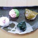 御菓子司 笹屋友宗 - 季節の生菓子(春)
