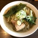 麺処 遊 - 料理写真:濃厚煮干そば大(950円)