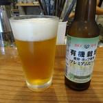 オーガニックカフェギャラリー地球 - エチゴビール