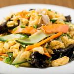 中華料理 香香 - 料理写真:キクラゲときゅうりと卵と肉の炒め