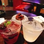 Cafe & Bar オレンジ ルーム - ぶどうのカクテル  オレンジチョコレート ソルティドッグ