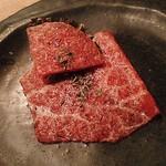 炭火焼肉 なかはら - コンビーフ&牛の生ハム
