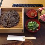 竹邑庵太郎敦盛 - あつもりそば 1斤半  ¥950