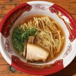 麺や 七彩 - 「手もみ醤油らーめん」500円「大つけ麺博大感謝祭」