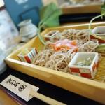 そば蔵 - 料理写真:「わさびづくしせいろう」¥1,260税込