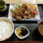 三河屋 - 料理写真:焼肉定食