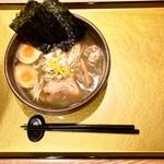 麺屋音 - 特製濃厚煮干そば・990円