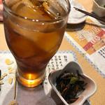 炉ばた焼 いろり - ウーロン茶