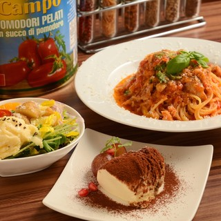 ★厳選食材の良さを引き出すイタリアンをカフェスタイルで楽しむ