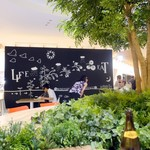 恵比寿ガーデンカフェ - ひとりで夕食の方も