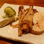 バンブー グラッシィ - 産直野菜の鉄板焼き/木の子の鉄板焼き
