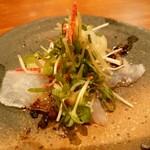 バンブー グラッシィ - 真鯛のカルパッチョ