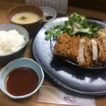 がんち - ロースカツ定食
