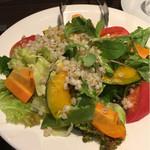 73934111 - イタリアンオルゾとロースト野菜のサラダ