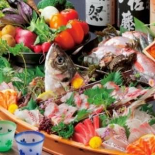 旬の食材を使い、ご予算に応じた贅沢なコース