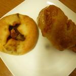 ブーランジェヤマダ - 料理写真:自家製和牛ビーフカレー、チーズフランス