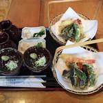 いろりなかがわ亭 - 天ぷらと蕎麦ツユ