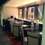 清香園 - カウンター席