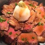 北海道直送十勝産牛のビーフステーキ丼