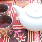 オーティッカ - サービスでいただいたインドのお茶