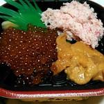 大漁丼家 - 18番カニウニイクラ丼