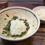はるか - 【再訪】台湾まぜそばに追い飯+小ライス