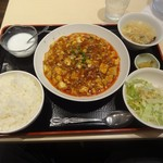 73943402 - 麻婆豆腐定食