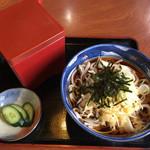 丸美食堂 - 料理写真:花ミックス700円…蕎麦湯も付いてきます。