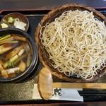 73944686 - お昼の炙り鴨つけ汁蕎麦 920円(税抜)