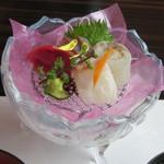 彩懐石 東浦和高砂 - 料理写真:御造り盛合せ