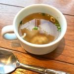 73946320 - ランチのスープ