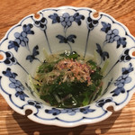 大阪うなぎ組 - 青菜のお浸し