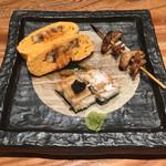 大阪うなぎ組 - 肝焼き・うまき・白焼き