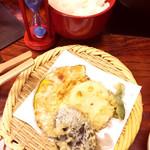 清水 順正 おかべ家 - 野菜天ぷら