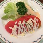 キッチン マカベ - トマトサラダ