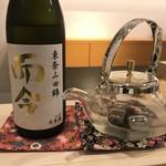 すし昇 - 日本酒には拘っている