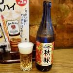 牛たん おやま - [2017/09]びんビール・キリン(600円)