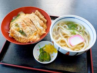さぬきうどん滝宮 - カツ丼セット