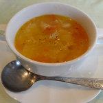 プティ・タ・プティ - ランチのスープ