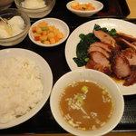 杜記 海鮮火鍋菜館 - チャーシュー定食