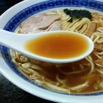中華そば べんてん - 豚骨魚介醤油