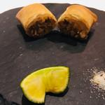 MASA'S KITCHEN - 本日の揚げ物 松茸の春巻き