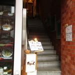 牛串 ちぇっく - 階段入口