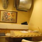 牛串 ちぇっく - 奥のテーブル