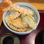藪庵 - 天丼