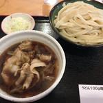 元祖 熊谷うどん 福福 - 肉うどん・大盛り