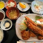 法楽屋 - 法楽屋定食(1600円)
